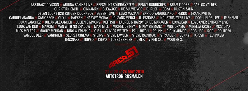 Line-up AREA51