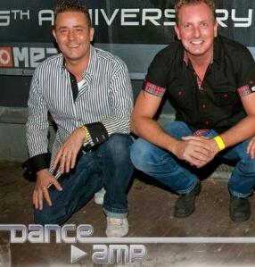 Arno en Marcel van DanceAMP