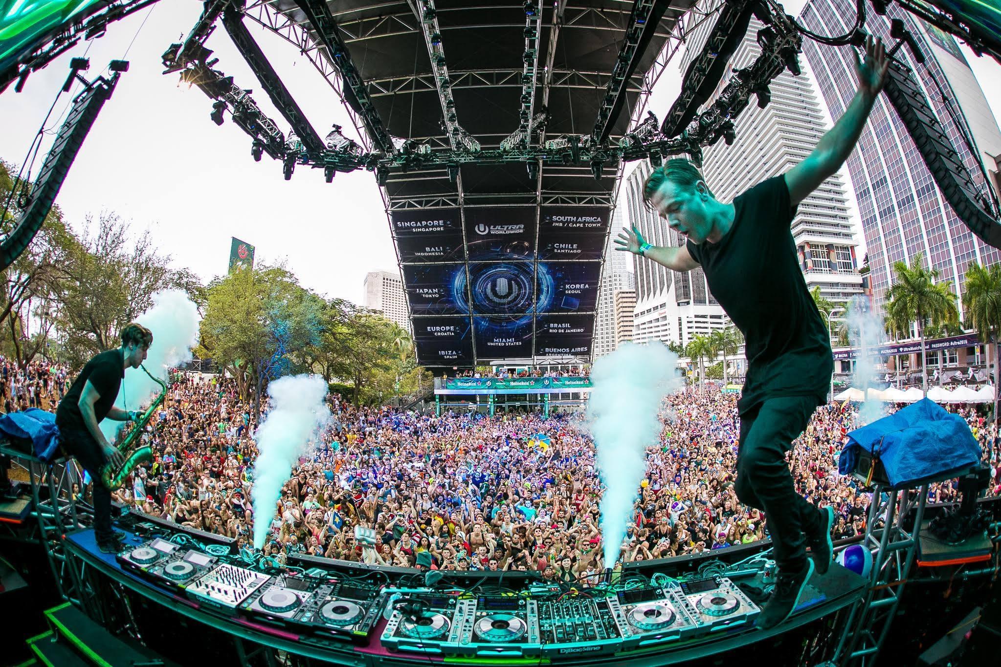 Sam Feldt Ultra Music Festival
