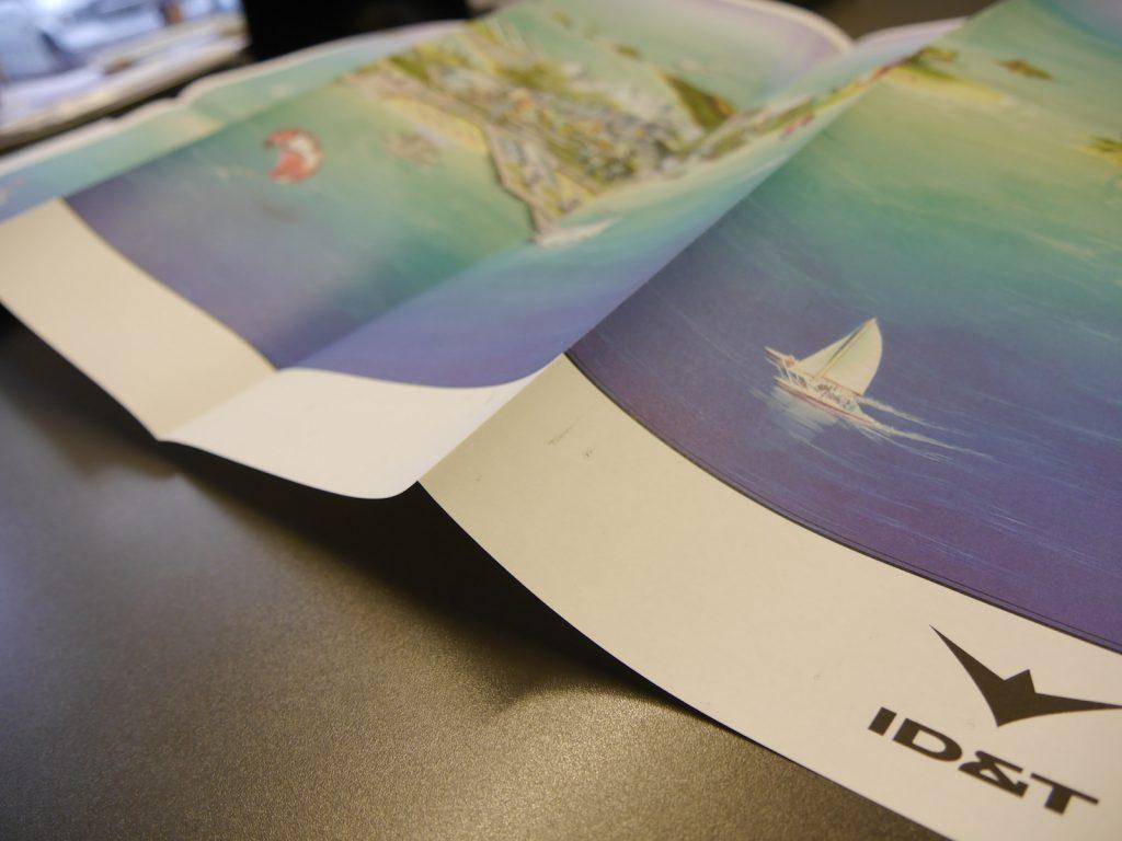 Uitvouwkaart Release ID&T