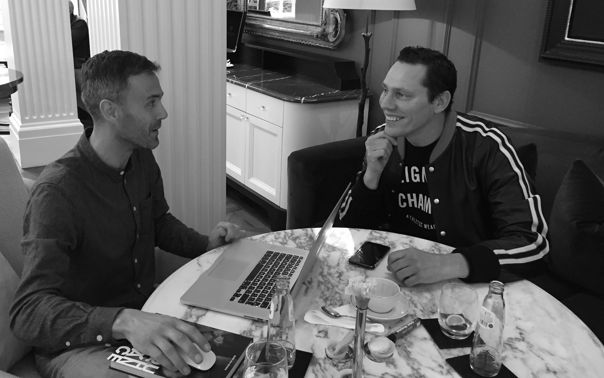 Tiesto interview Mark van Bergen