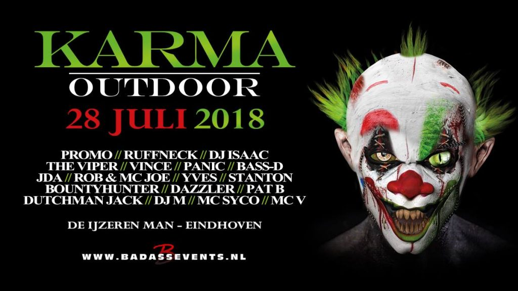 Line-up Karma Outdoor 2018