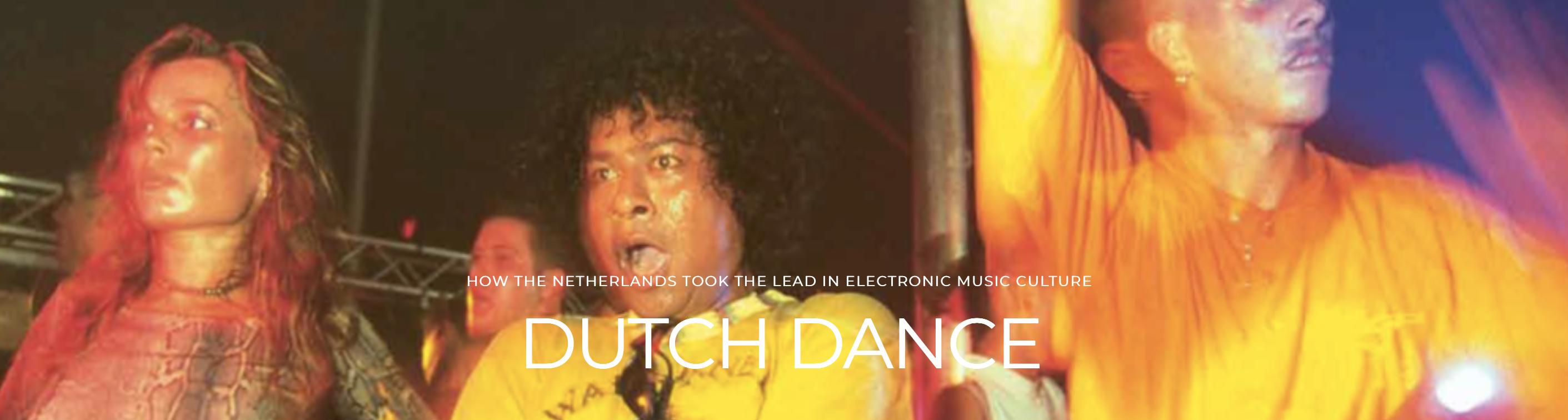 Boek Dutch Dance 1988-2018 Mark van Bergen