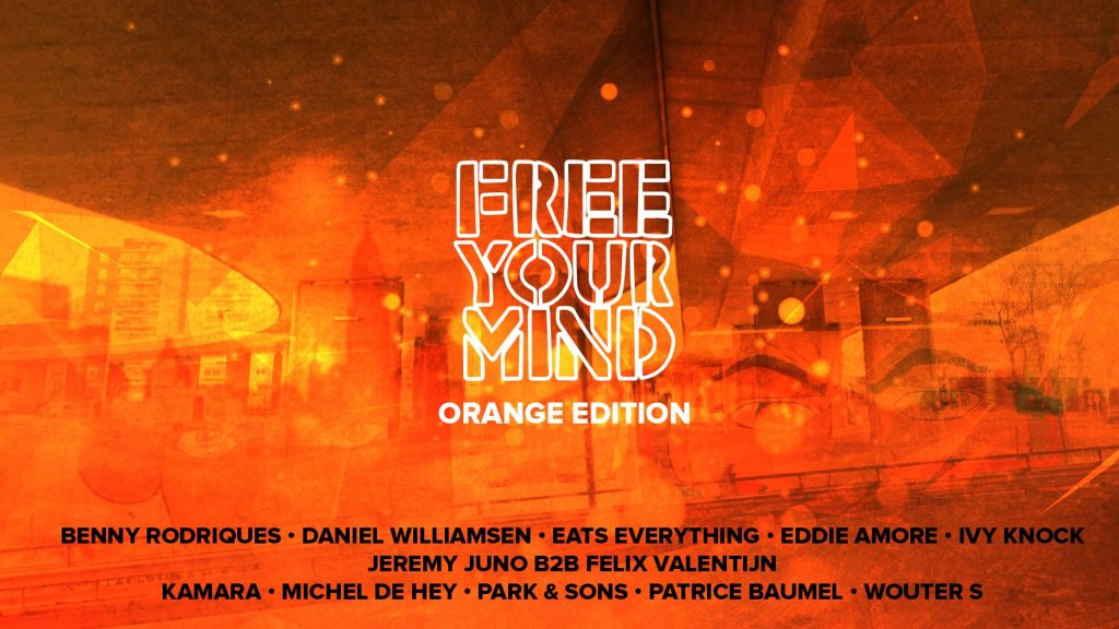 Free Your Mind Koningsdag