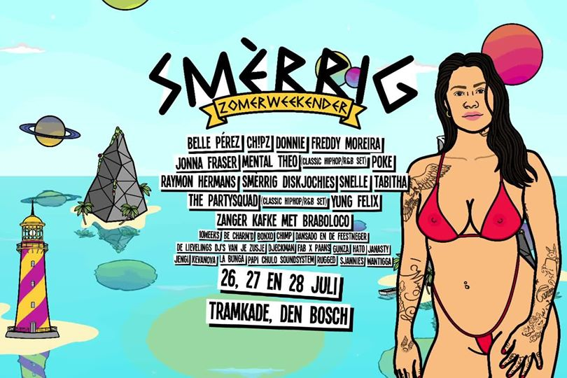 Smèrrig Zomerweekender 2019, line-up