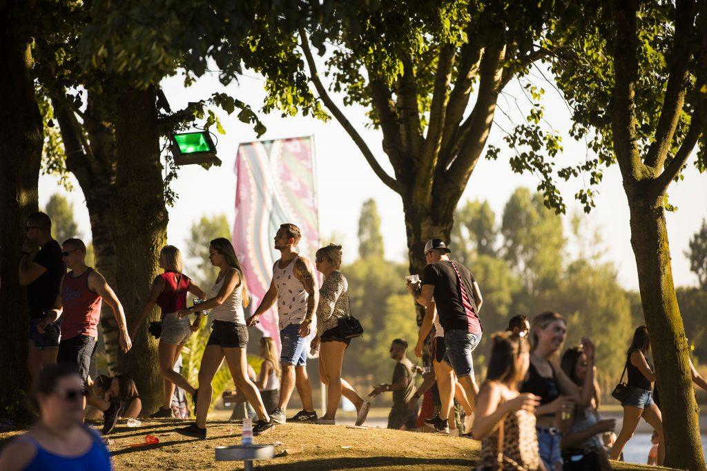Daydream Festival bezoekers