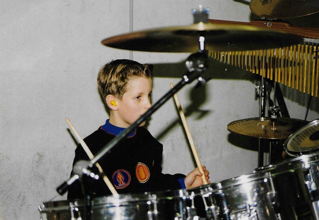 Kevin van der Burgt drum