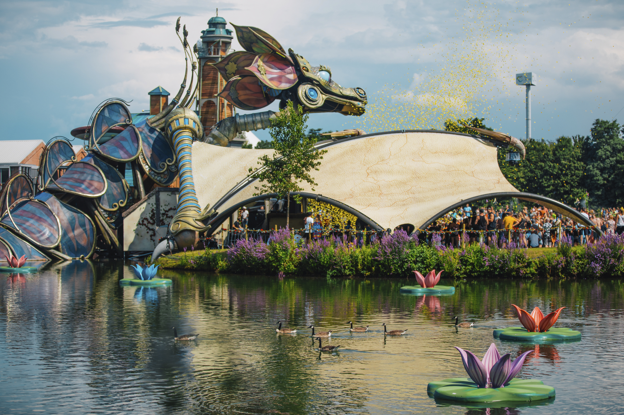 Tomorrowland Rose Garden