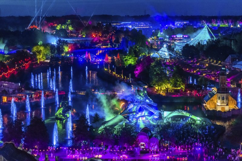 Tomorrowland 2019 van boven