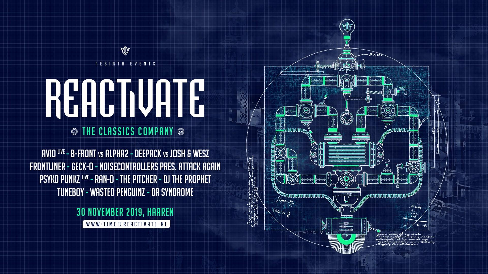 Reactivate 2019