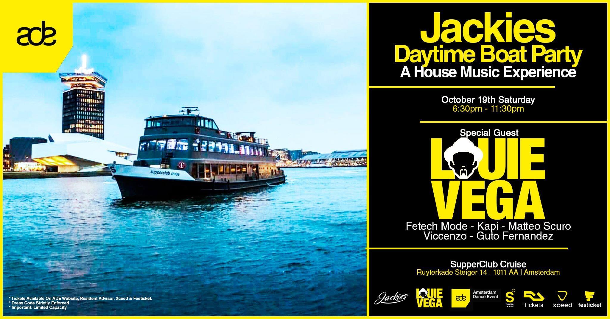 ADE jackies boat