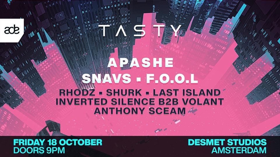Tasty Network Showdown ADE 2019 Banner