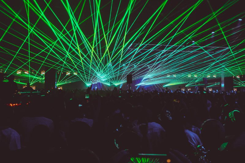 festival lasers