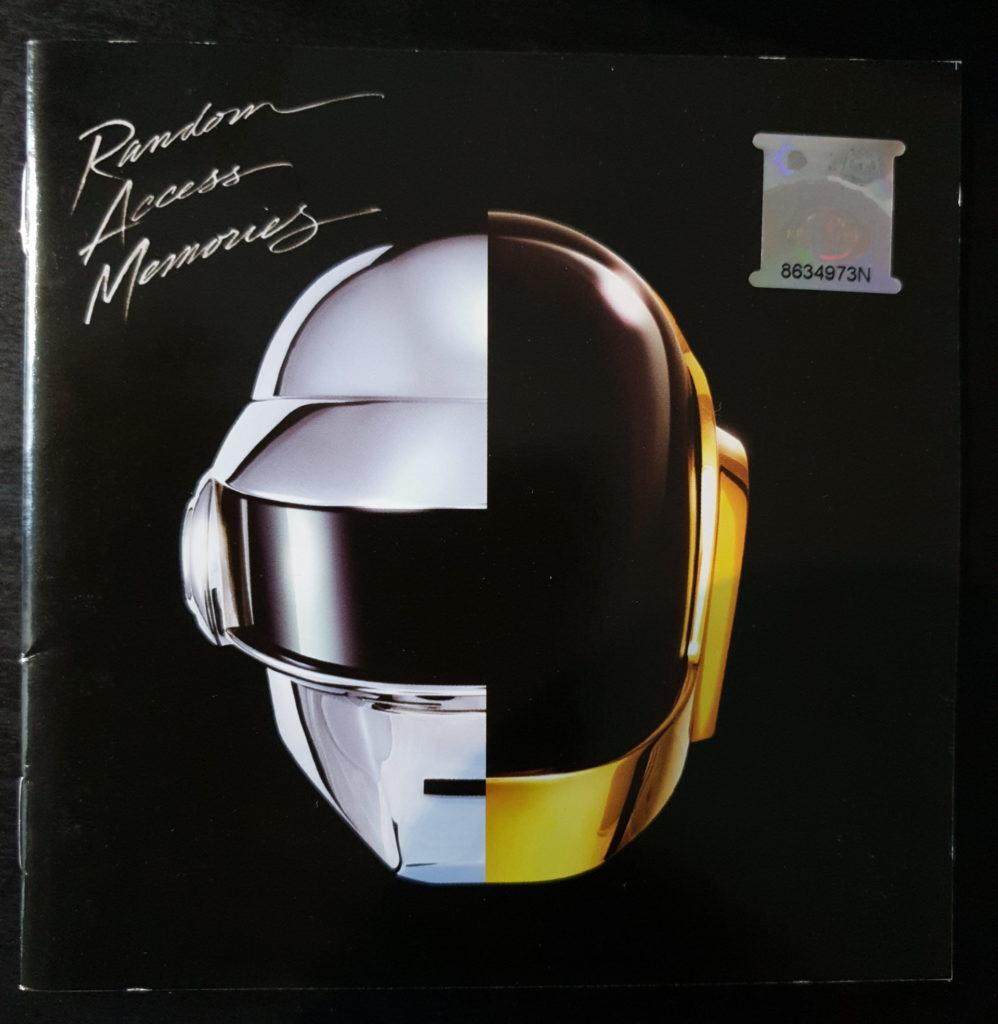 Daft Punk cover Random Access Memories booklet